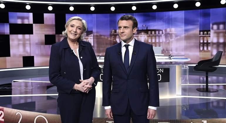 Le Pen no tiene pruebas de cuenta de Macron en Bahamas