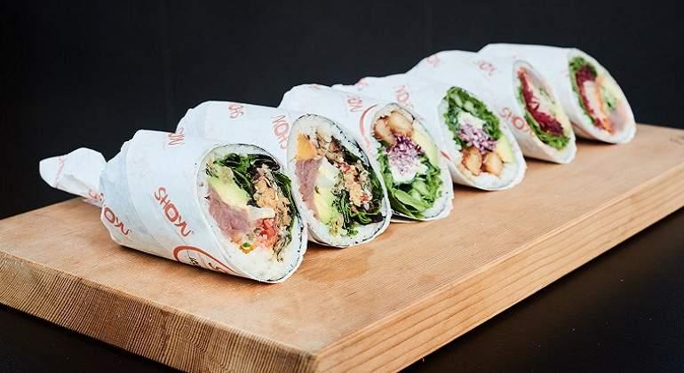 Burroll, una nueva forma de comer sushi hecha por peruanos
