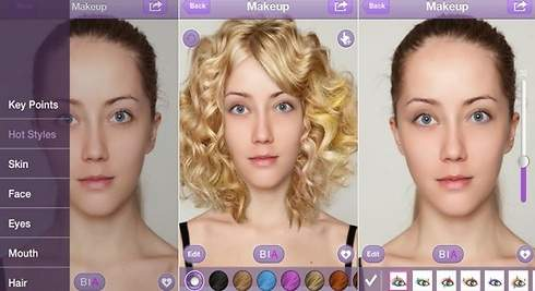 YouCam Makeup: maquíllate virtualmente