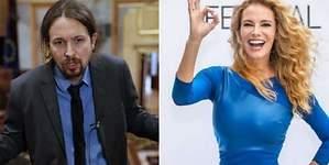 Paula Vázquez estalla por su idilio con Pablo Iglesias