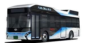 Toyota venderá autobuses de pila de combustible