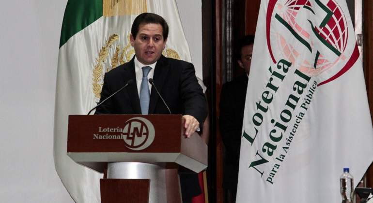 Renuncia el director general de la Lotería Nacional — MÉXICO