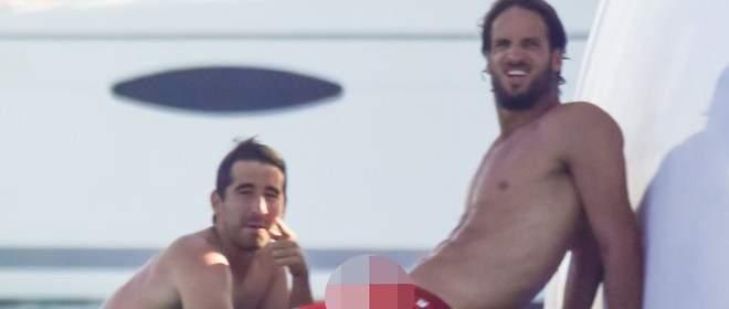 El tenista Feliciano López presume de piquetón en Formentera...