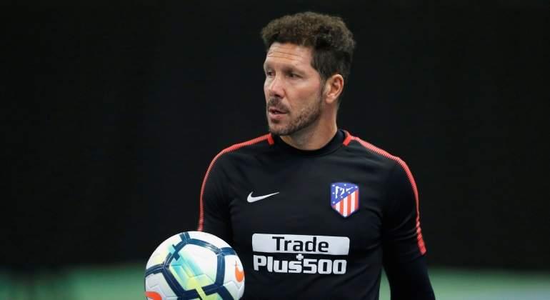 Simeone renovó con el Atlético hasta 2020