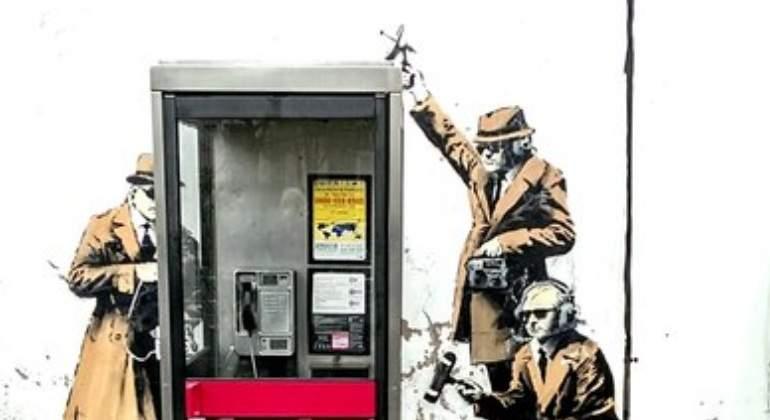 Desaparece un mural de Banksy en Inglaterra