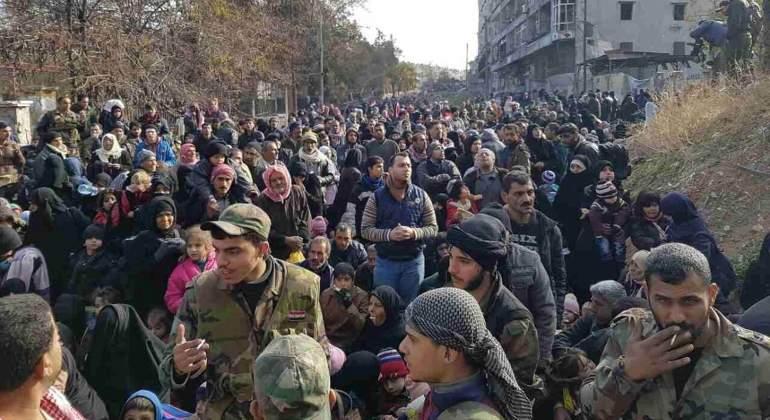 Más de 8.500 civiles han abandonado las zonas rebeldes de Alepo tras el cese de las operaciones