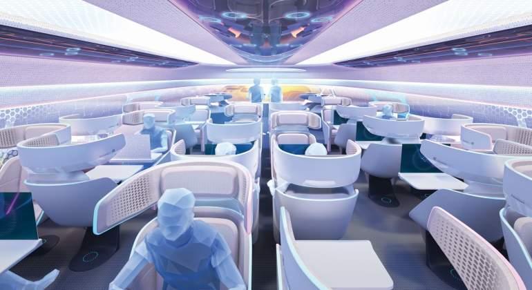 Cabinas retráctiles o cubiertos que se comen: el mejor futuro de la aviación