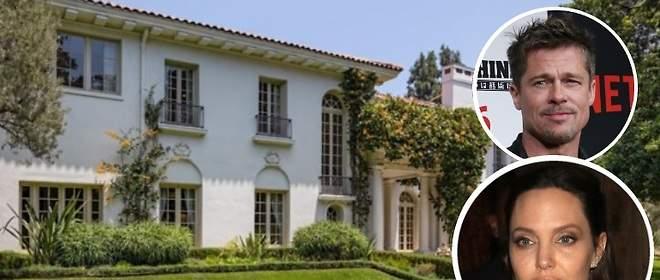 Angelina Jolie se compra una casa al lado de Brad Pitt