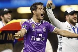 Madrid y United negocian por Morata