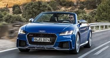 El Audi TT RS sube a primera división con 400 CV