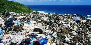 Una isla de basura flota en el Pacífico y podría ser un país