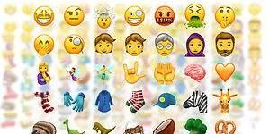 Así serán los nuevos emojis que llegarán a WhatsApp