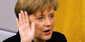 La canciller Merkel promete  compromiso con EEUU