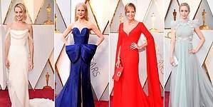 Oscar 2018: la fiesta del color, el glitter y las joyas más