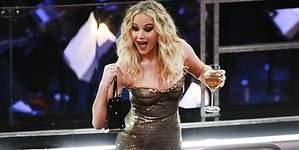 El show de Jennifer Lawrence: entre vino y butacas