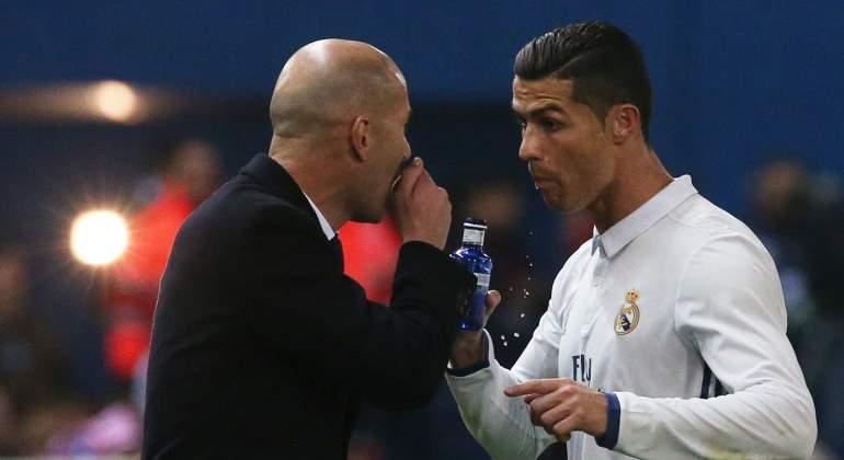 Así convenció Zidane a Cristiano Ronaldo para jugar menos