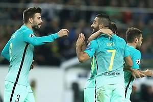 Barcelona remonta al  Moenchengladbach