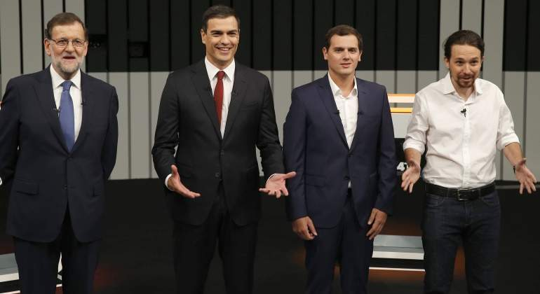 rajoy-sanchez-rivera-iglesias-debate13JUN16-efe.jpg