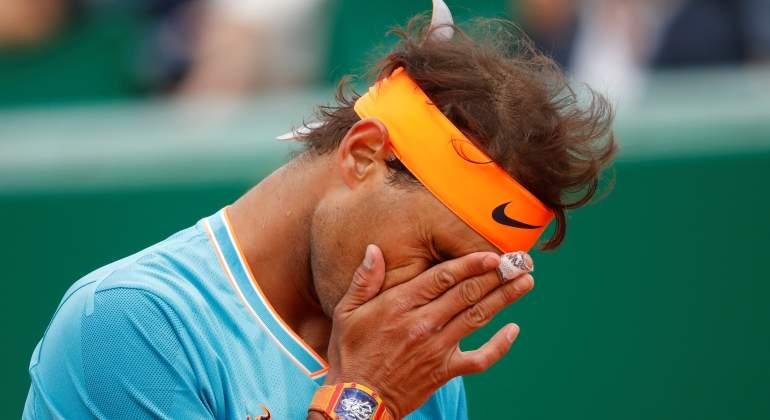 93c28ebef6ffe Rafa Nadal no puede con Fognini y se despide en las semifinales de  Montecarlo