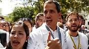 Guaidó y miles de seguidores salen a la calle para protestar contra Maduro