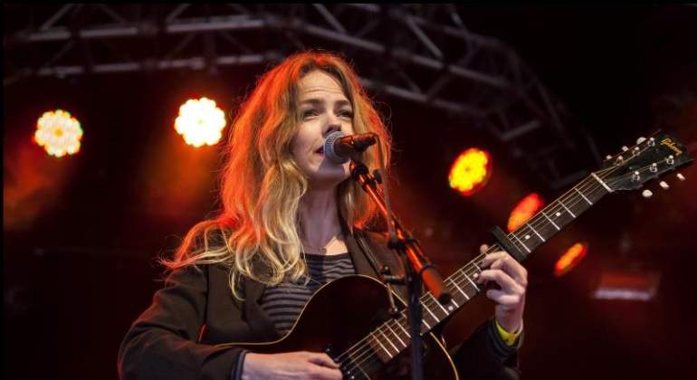 La cantante Christina Rosenvinge