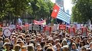 La oposición británica se moviliza para detener la dictadura de Johnson tras el cierre del Parlamento