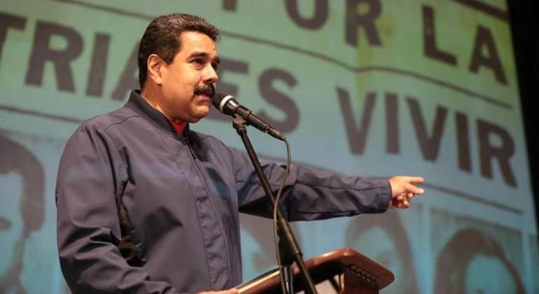 Nicolás Maduro llama 'ladrón' y 'cobarde' a Mauricio Macri