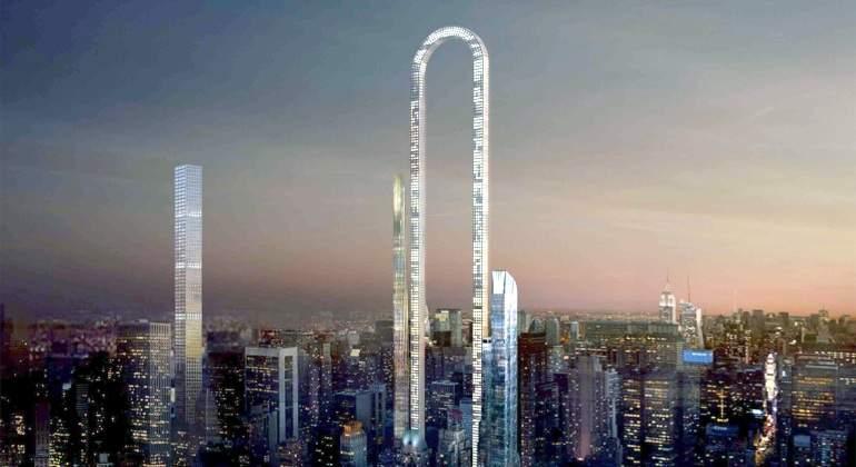 La Gran Curva, el próximo rascacielos de Manhattan