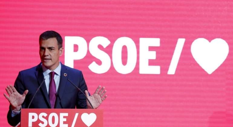 a564c1622a59b El PSOE elige para su precampaña un lema que ya utilizó Vox   La España que  …