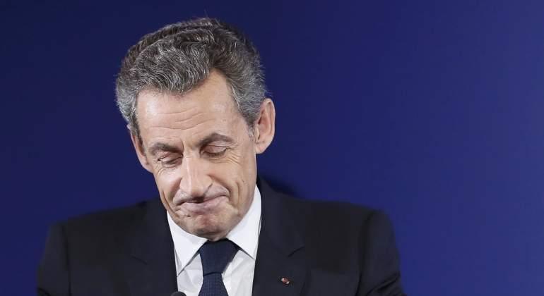 Sarkozy, bajo custodia policial por su campaña de 2007