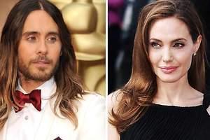 Angelina Jolie sale con Jared Leto