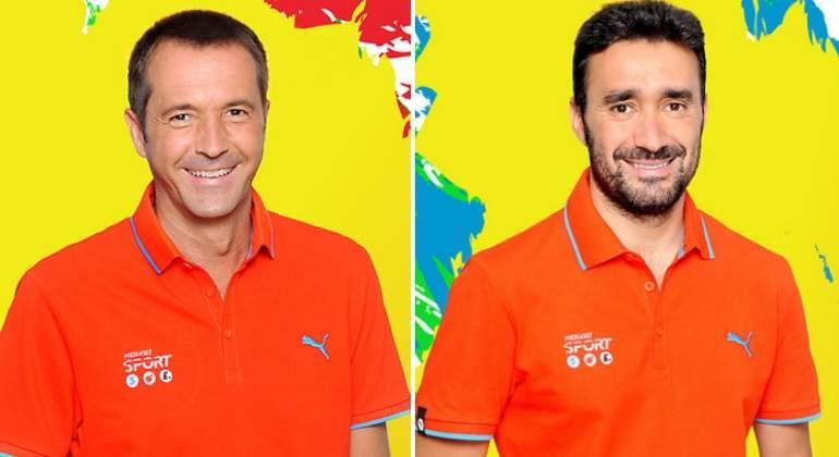 Castaño da el ok a Mediaset y presentará Deportes Cuatro con Manu Carreño