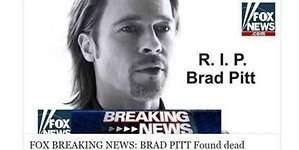 Muere Brad Pitt: el virus informático de la red