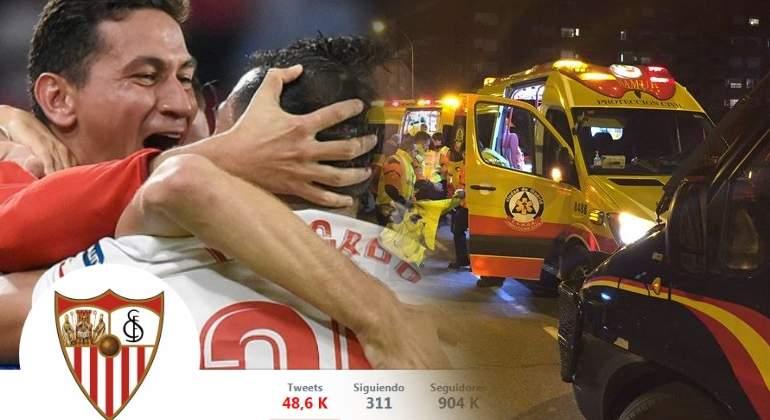 El Sevilla, contra TVE por cómo informó de la pelea del Wanda