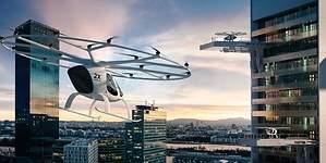 Daimler apuesta por el taxi eléctrico volador e invierte en Volocopter