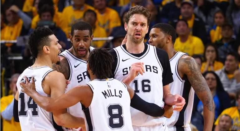San Antonio Spurs-Golden State Warriors: horario y dónde ver el cuarto partido de playoff de la NBA
