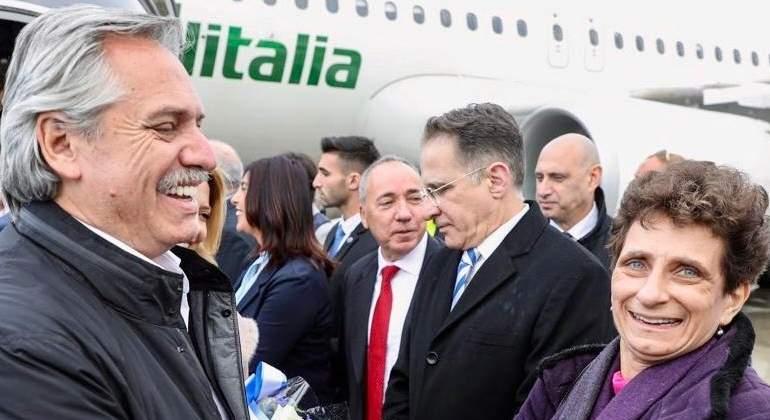 Fernández viaja hoy a Europa, donde se reunirá con el Papa y mandatarios clave para la deuda