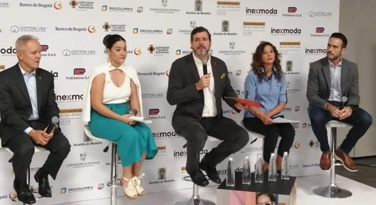 Con expectativas de negocios por 753 millones de dólares cerró Colombiatex 2020