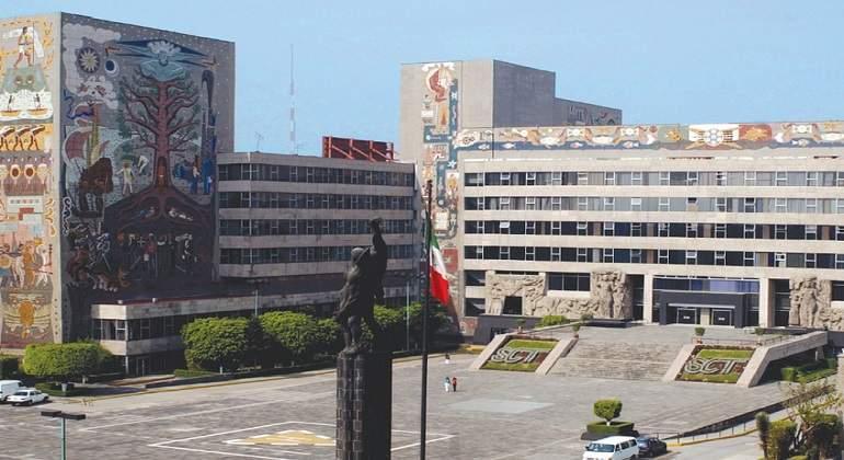 Demolerán edificio central de SCT; rescatarán murales históricos