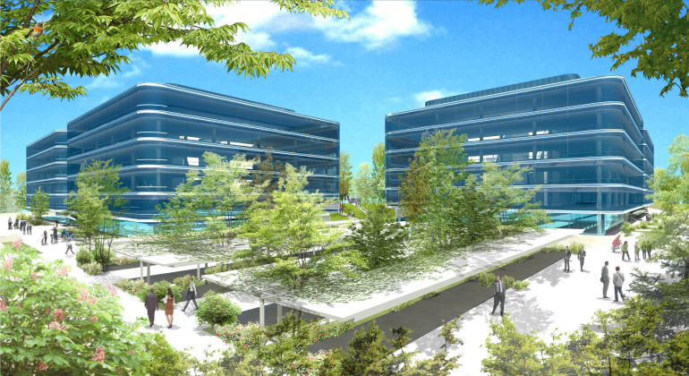 Iberdrola levanta su primer complejo de oficinas en madrid for Oficina de iberdrola en barcelona