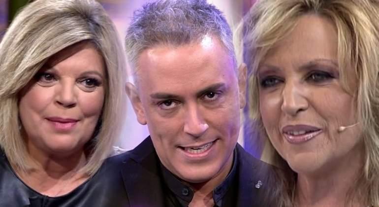 Terelu Campos, Kiko Hernández y Lydia Lozano, en las Campanadas de Telecinco