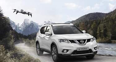 Nissan X-Trail X-Scape: el SUV con dron incorporado