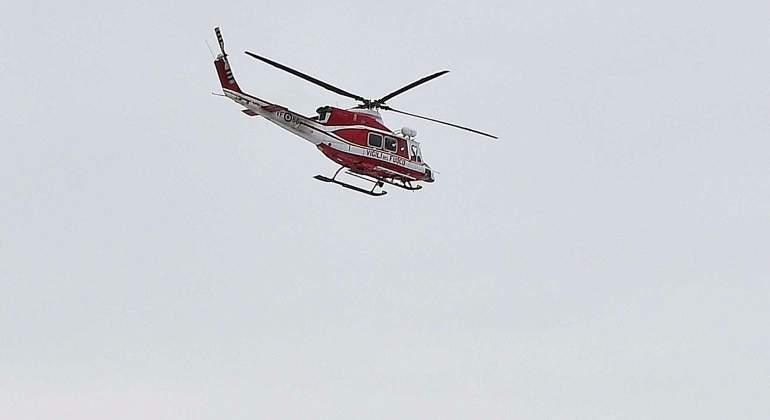 Mueren los seis ocupantes del helicóptero que se ha estrellado en el centro de Italia