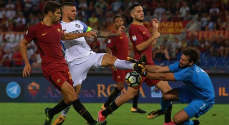 Icardi lideró la remontada del Inter ante la Roma