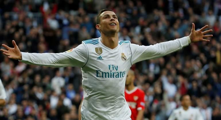 Cristiano ronaldo · Real Madrid · Fútbol. cristiano -2017-celebra-sevilla-reuters.jpg de727a9a9084c