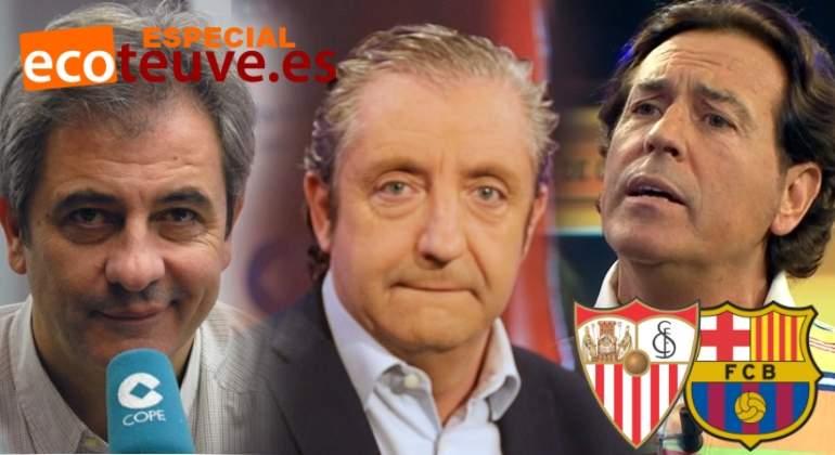 La gran porra de la Copa del Rey: Pedrerol, Lama, Pipi... se mojan con el Sevilla-Barça