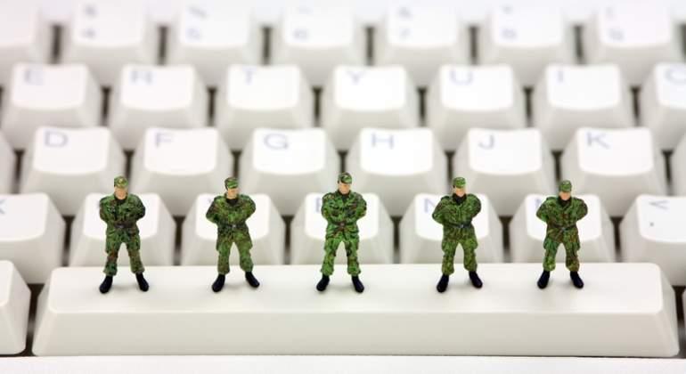 militares teclado