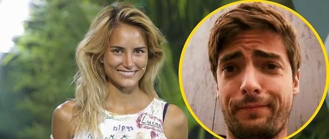 ... Mientras su ex mujer, Alba Carrillo, se declara a su novio en las redes