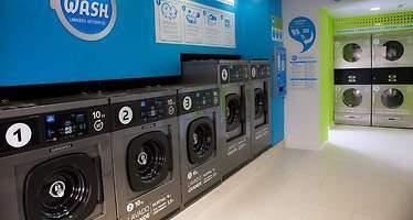 Nueva tendencia en la colada: crece el número de lavanderías autoservicio