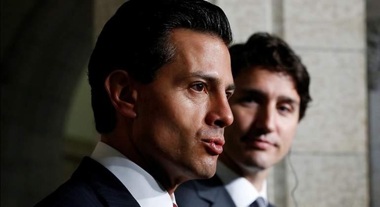 EPN y Trudeau ven oportunidad para actualizar el TLCAN